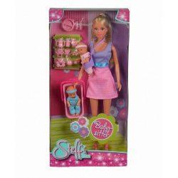 Játékbabák - Műanyag-babák - Steffi Love Babysitter baba