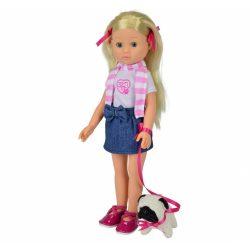 Játékbaba - Műanyag babák - Madeline girl me kutyával játékbaba