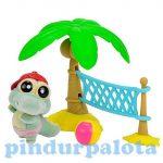 Yoohoo játék figurák - Strand szett krokodilos