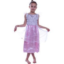 Jelmezek - Tündér jelmez rózsaszín-fehér, 7-8 éves gyerekeknek