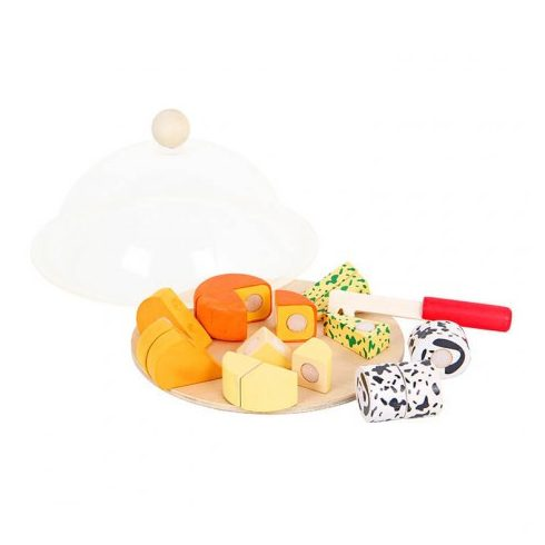 Játék élelmiszerek - Szeletelhető sajttál