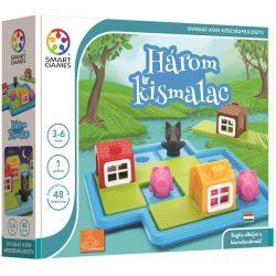 Logikus gondolkodás fejlesztő játékok - Három kismalac - logikai játék