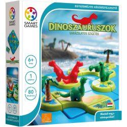 Logikus gondolkodás fejlesztő játékok - Dinoszauruszok - A varázslatos sziget - Logikai Játék