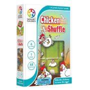 Logikus gondolkodás fejlesztő játékok - KészségfejleszChicken Schuffle - Tojó-toló
