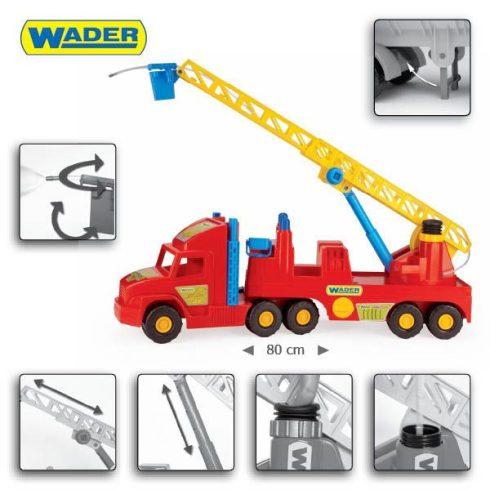 Műanyag járművek - Super Truck tűzoltóautó Wader