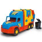 Műanyag járművek - Super Truck kukáskocsi Wader