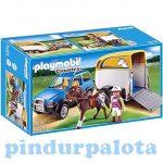 Playmobil Lószállító autó 5223