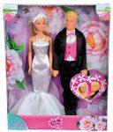 Műanyag babák - Steffi Love Esküvői pár