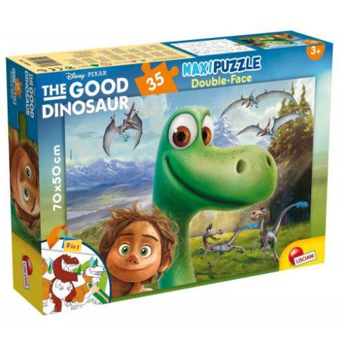 Gyerek Puzzle - Kirakósok - Dínó tesó 35 db-os maxi puzzle, Arló és Pötty