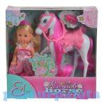 Játékbabák - Evi Love Hercegnő királyi lóval - Simba Toys