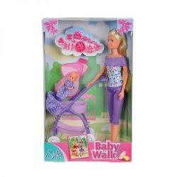 Műanyag babák - Steffi Love Játékbaba babakocsival