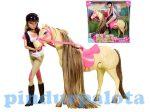 Steffi Love Ugrató ló, és lovasa játékbaba