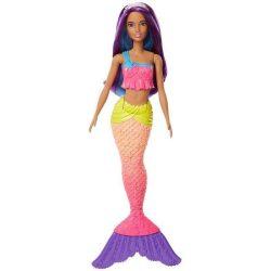 Barbie babák - Dreamtopia sellő arany hajjal