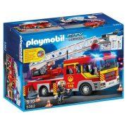 Playmobi játékok - Emelőkosaras tűzoltóautó 5362