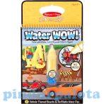 Rajzkészség fejlesztő játékok - Melissa & Doug Kreatív játék, Rajzolás vízzel, járművek