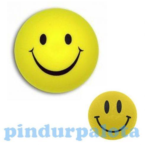 Labdák - Játékok gyerekeknek - Smile labda sárga 220mm