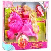 Műanyag babák - Steffi Love hercegnő lóval