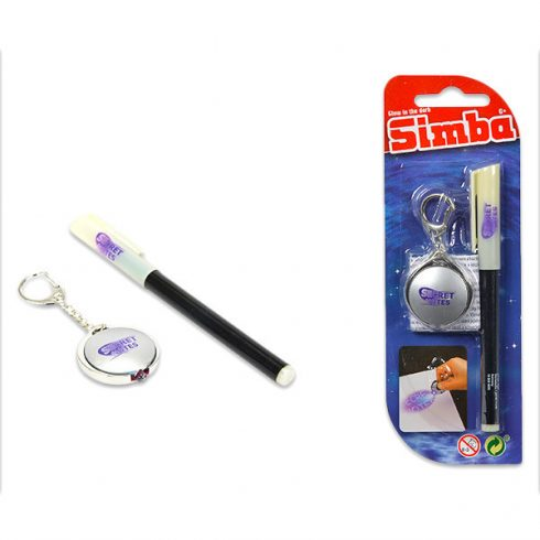 Írószerek - Titkos naplóhoz toll + UV lámpa
