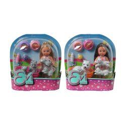 Játékbabák - Műanyag-babák - Évi Love Baba állatokkal