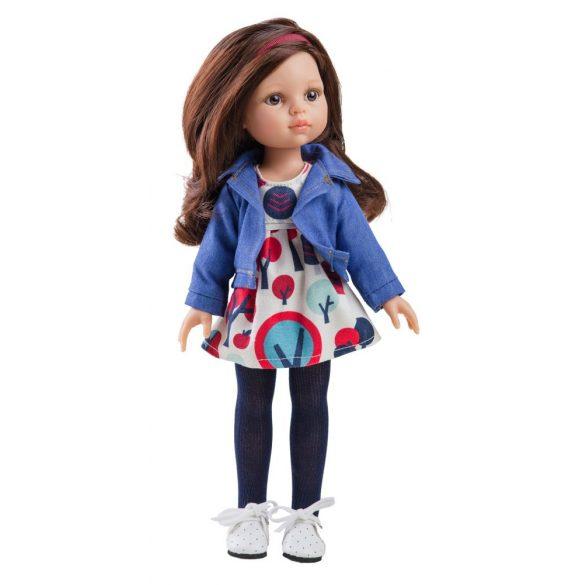 a81510619c Babaruha - Paola Reina kiegészítő mintás nyári ruha kabáttal 32 cm ...