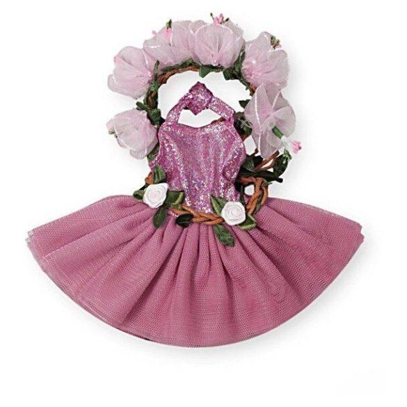 33a34ffc72 Babaruha - Paola Reina kiegészítő - Lila színű balerina ruha 32 cm ...