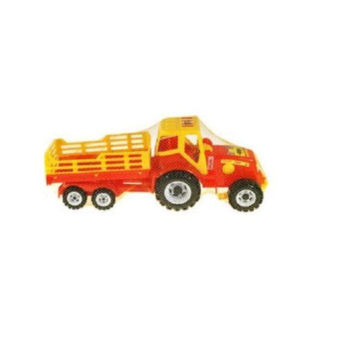 Műanyag járművek - Traktor billenős pótkocsival több színben