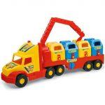 Játékautók - Wader szelektív hulladékgyűjtő autó