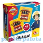 Sam a tűzoltó játékok - Super Memo memóriajáték
