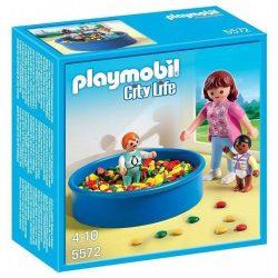 Playmobil játékok - Medence labdákkal 5572