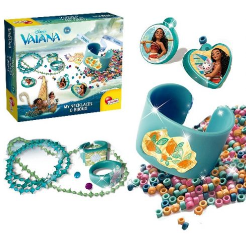Kreatív hobby készletek - nyaklánc és ékszerkészítő Vaiana