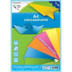 Színes papírok - Origamipapírok - Origamipapír A4 10 lap