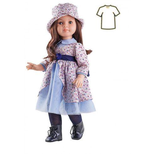 Babaruha - Paola Reina kiegészítő - Szívecskés ruha 60 cm-es babákra
