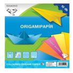 Barkács kartonok, Rajzlapok, Színes papírok, papírblokkok - Origamipapír 20x20 cm