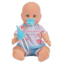 Játékbabák - New born bébi, pisilős, cumival, cumisüveggel