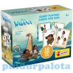 Kártya játékok - Vaiana óriás kártyajáték