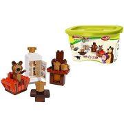 Építőjátékok - Mása és a Medve szobája