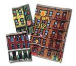 Környezettudatos játékok - Dland Eco Környezettudatos játék Városi épületek 3db-os szett