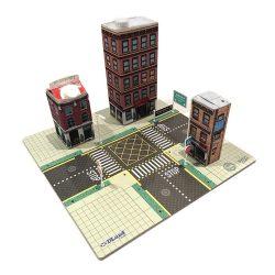 Építőjátékok gyerekeknek - Dland eco Város Újrahasznosításhoz használható játék Start szett