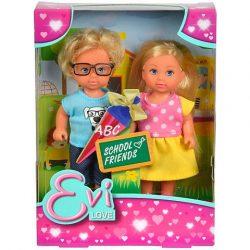 Műanyag babák - Evi Love Iskolai barátjával