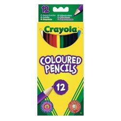 Írószerek - Iskolaszerek - Íróeszközök - Crayola színes ceruza, 12 db-os