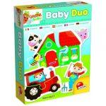 Baby kirakók - Puzzle - Baby Duo puzzle a farm Carotina