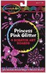 Rajzkészség fejlesztő játékok - Kreatív játék, Képkarc glitter, hercegnő Melissa & Doug