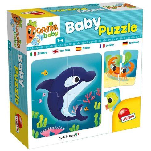 Baby puzzle Tengerek világa Lisciani
