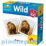 Memóriafejlesztő játékok - Vadon élő állatok memóriajáték