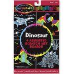 Rajzkészség fejlesztő játékok - Melissa & Doug Kreatív játék, Képkarc, dínó