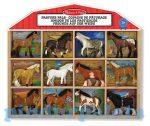 Állatok - Lovak - Ló figurák 12 db Melissa & Doug