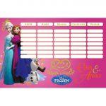 Iskolai kiegészítők - Órarendek - Órarend Frozen Elsa