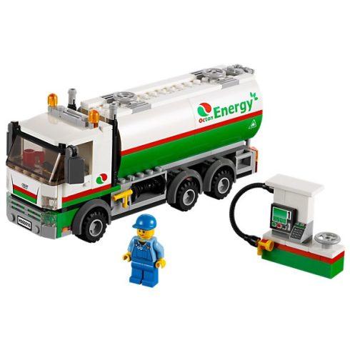 60016 LEGO Tartálykocsi