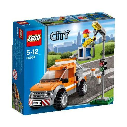 60054 LEGO - Emelőkosaras szerelőkocsi