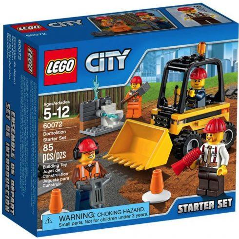 LEGO 60072 - City - Bontási munkálatok - kezdő készlet